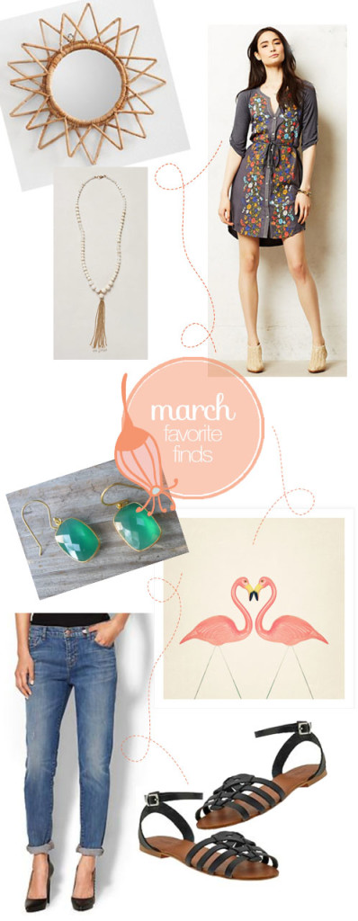March Favorite Finds | PepperDesignBlog.com
