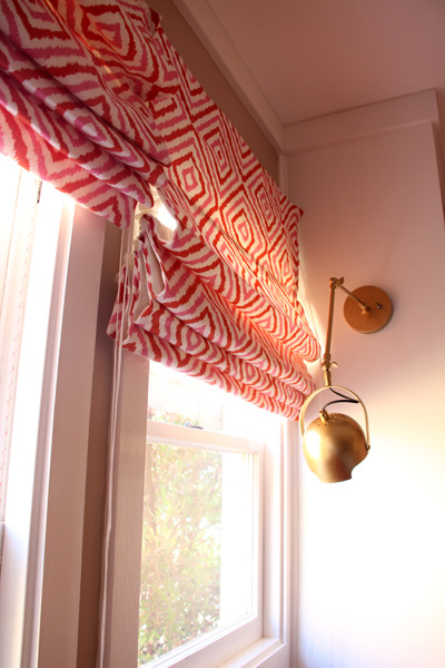 Girls' Room: Roman Shades | PepperDesignBlog.com