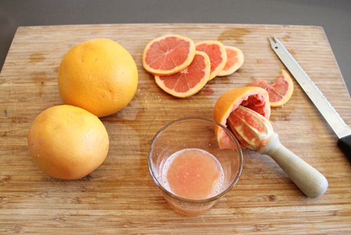 A Good Morning! Grapefruit Cocktail | PepperDesignBlog.com