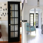 Inspiration: Black French Doors | PepperDesignBlog.com