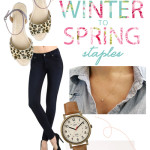Winter to Spring Wardrobe Staples | PepperDesignBlog.com