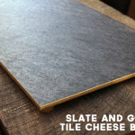 DIY $8 Gold-Rimmed Cheese Board