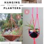 Favorite Hanging Planters Inspiration Board | PepperDesignBlog.com