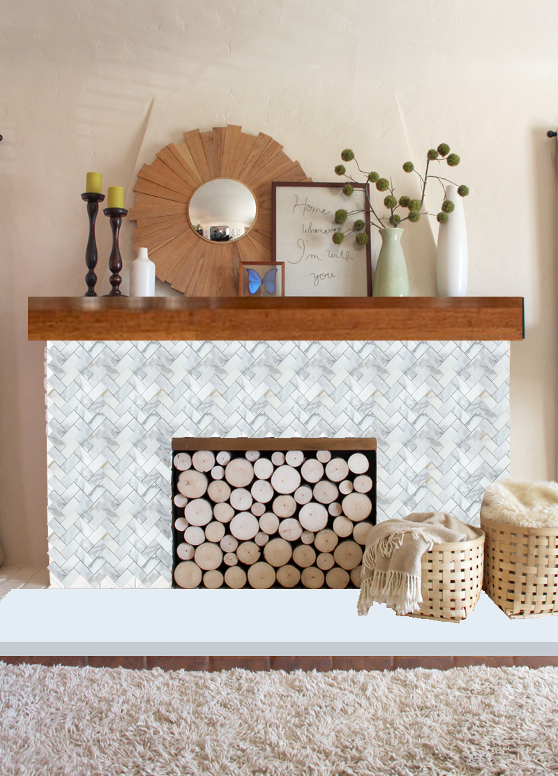 A Mantel Makeover? Ideas | PepperDesignBlog.com