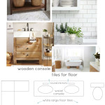 Master Bathroom Inspiration Board | PepperDesignBlog.com