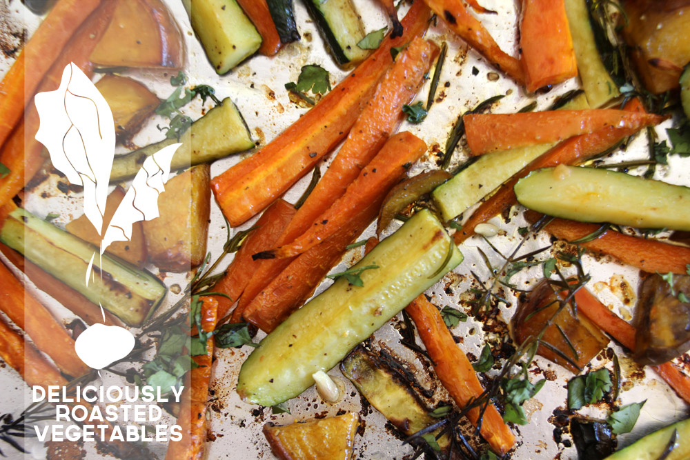 Tips for Deliciously Roasted Veggies, a How-To | PepperDesignBlog.com