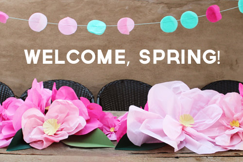 Teal & Pink Easter/Spring Party | Pepper Design Blog.com