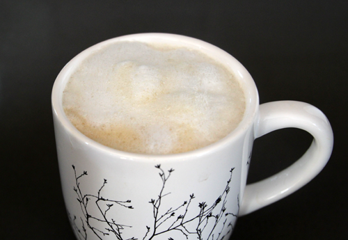 A Latte a Day... a Delicious, Espresso Machine-Free Yummy Start to the Day | PepperDesignBlog.com