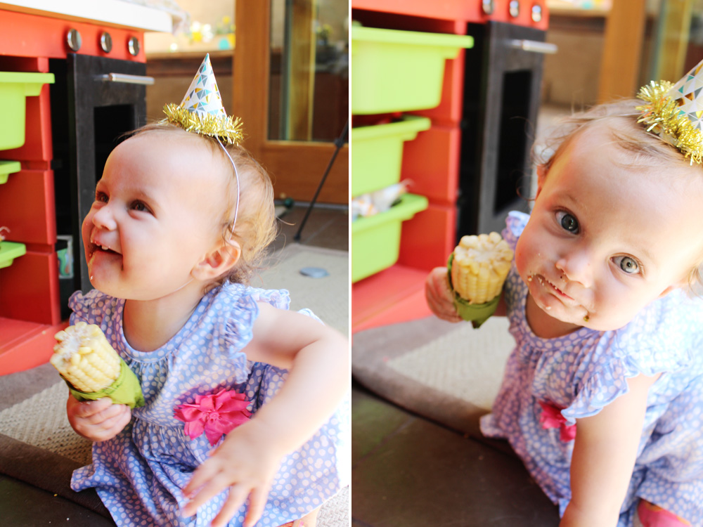Taylor's First Birthday | PepperDesignBlog.com
