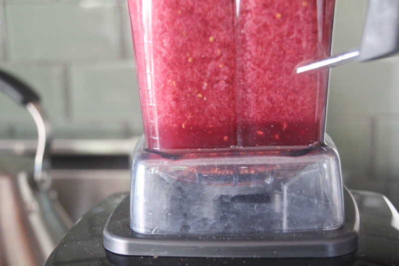 Homemade Watermelon Berry Freezer Sorbet | PepperDesignBlog.com