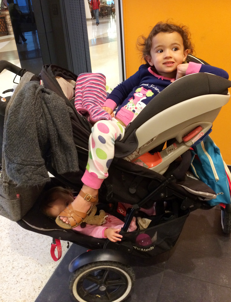 Traveling with Two in Tow, Part 2 (A Trip to the Airport)