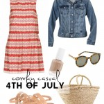 Wardrobe Style Board: A Casual 4th of July