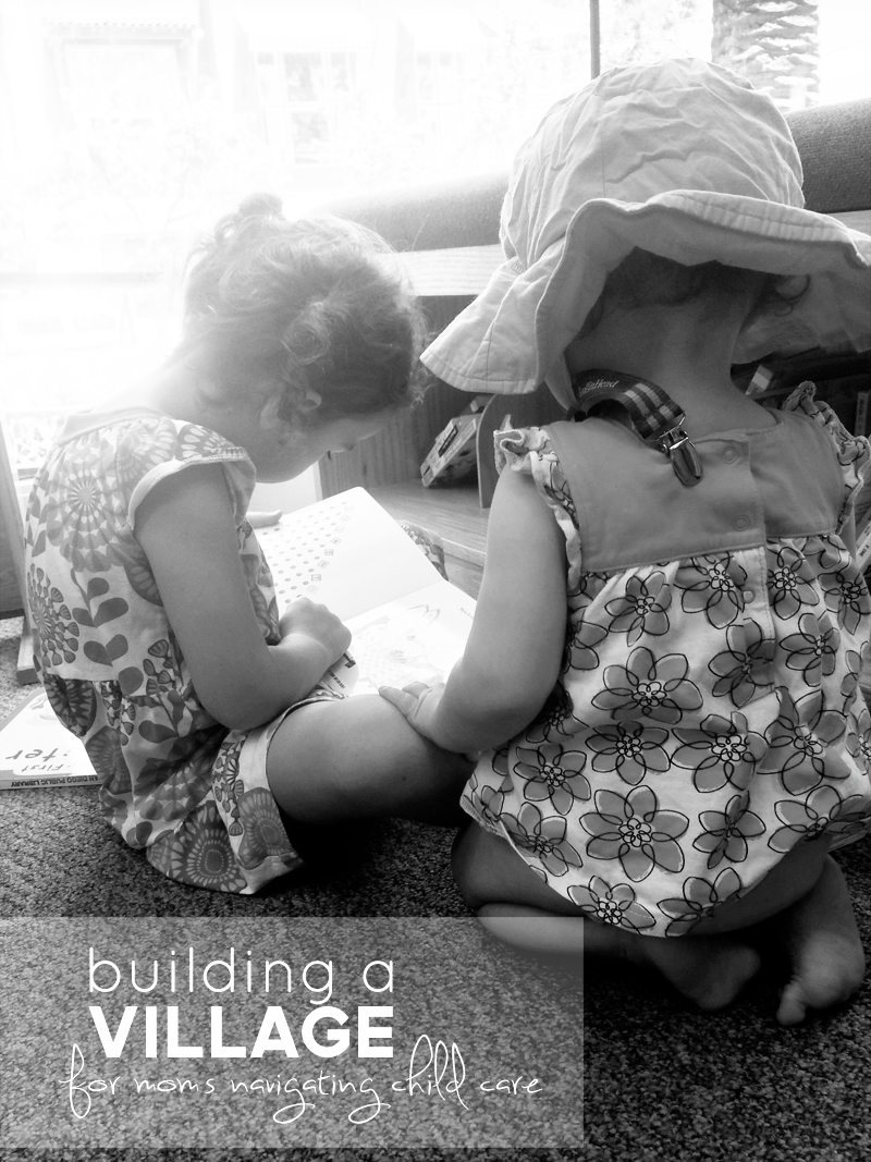 Random Thoughts: It Takes a Village | Motherhood | PepperDesignBlog.com