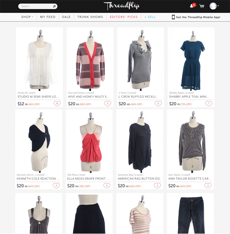 A Guide to Selling Your Clothes Online: Threadflip | PepperDesignBlog.com