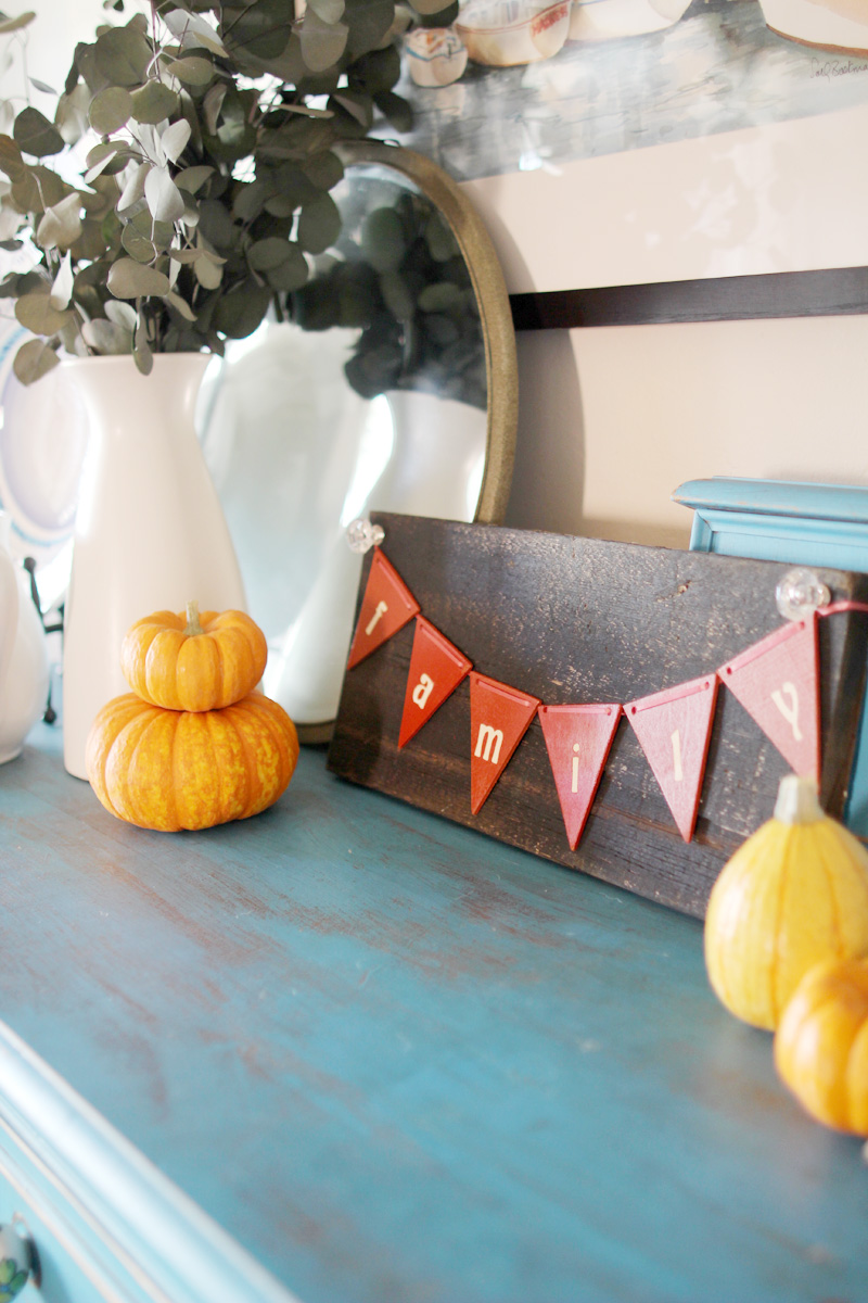 Our Home, Fall 2014 | Family Banner | PepperDesignBlog.com