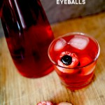 Creepy Cocktail Halloween Eyeballs