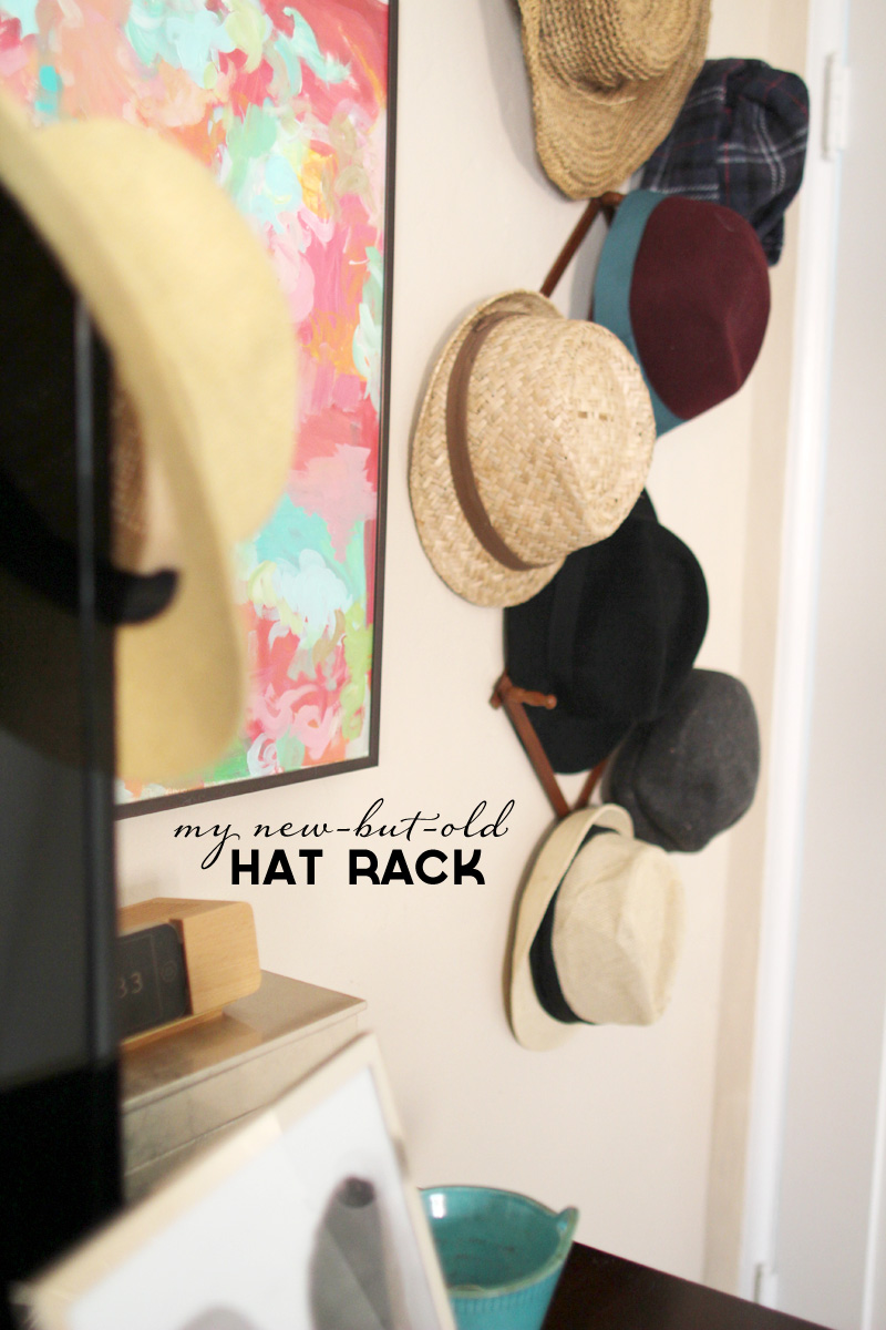 A Vintage Tea Cup, Coffee Mug Wooden Hat Rack | PepperDesignBlog.com