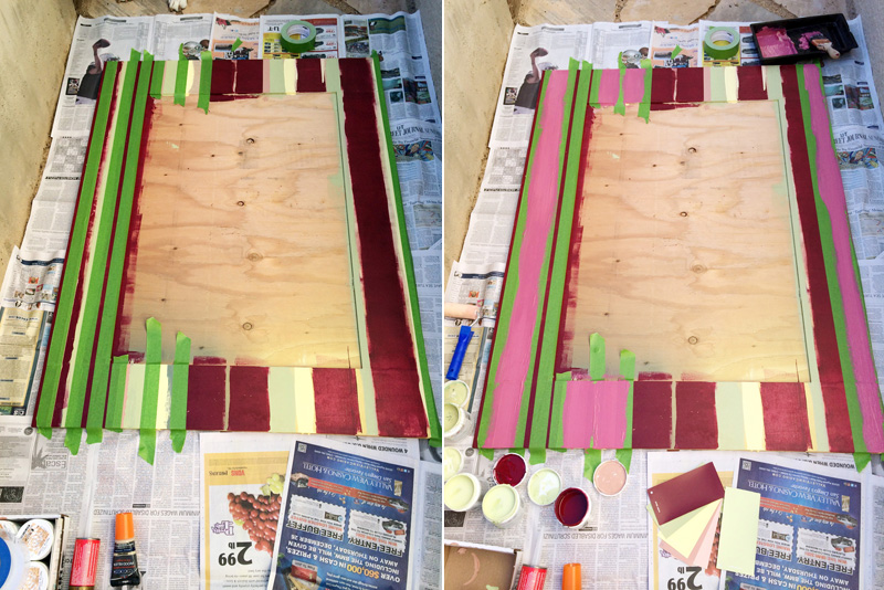 Building the Art Boards | PepperDesignBlog.com