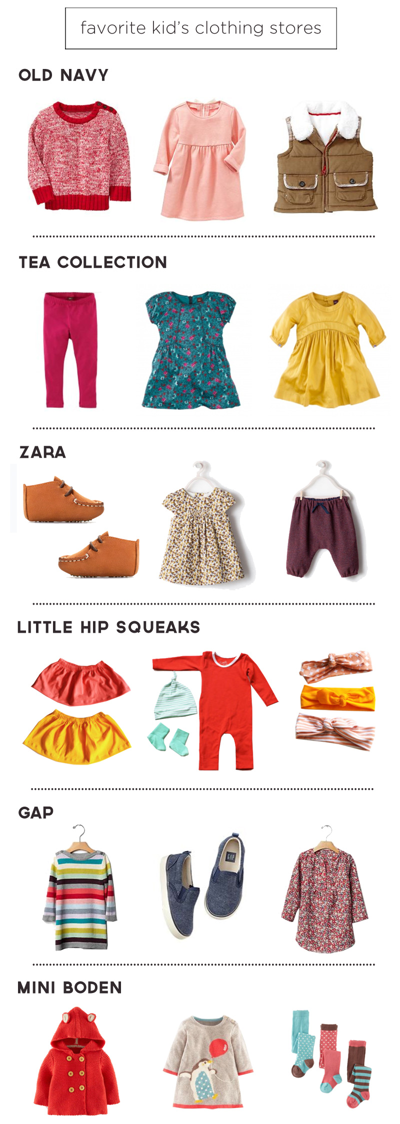 Favorite Kid's Clothing Stores + Cyber Monday Deals | PepperDesignBlog.com