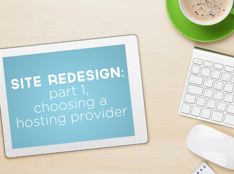 Tech Tips: Website Redesign | Part 1, Choosing a Hosting Provider | PepperDesignBlog.com