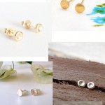 Gold Post Stud Earrings Jewelry Roundup | PepperDesignBlog.com