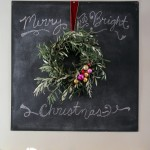 A (Happily) Simple Olive Branch Wreath