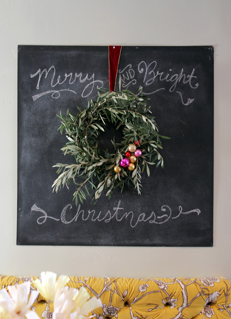 DIY Olive Branch Wreath | PepperDesignBlog.com