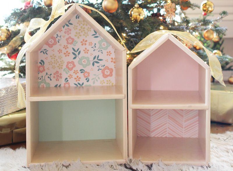 Handmade Wooden Dollhouse | PepperDesignBlog.com