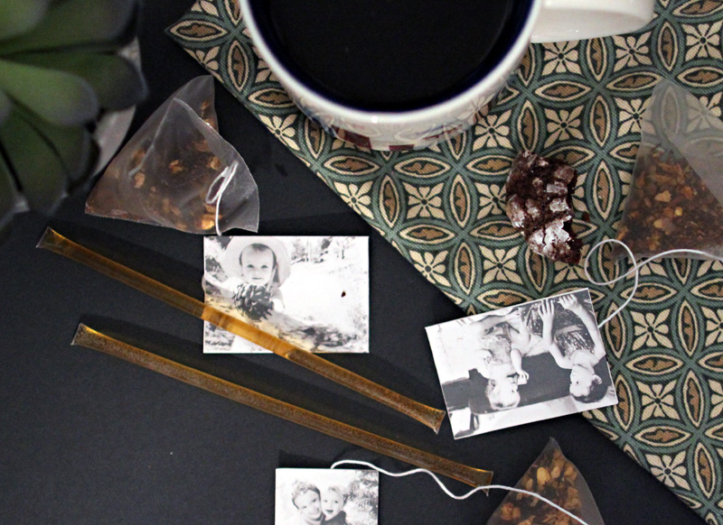 Handmade Gift: Photo Tea Tag | PepperDesignBlog.com