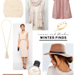 Winter Finds Style Board & Inspiration | Creams & Blush | PepperDesignBlog.com