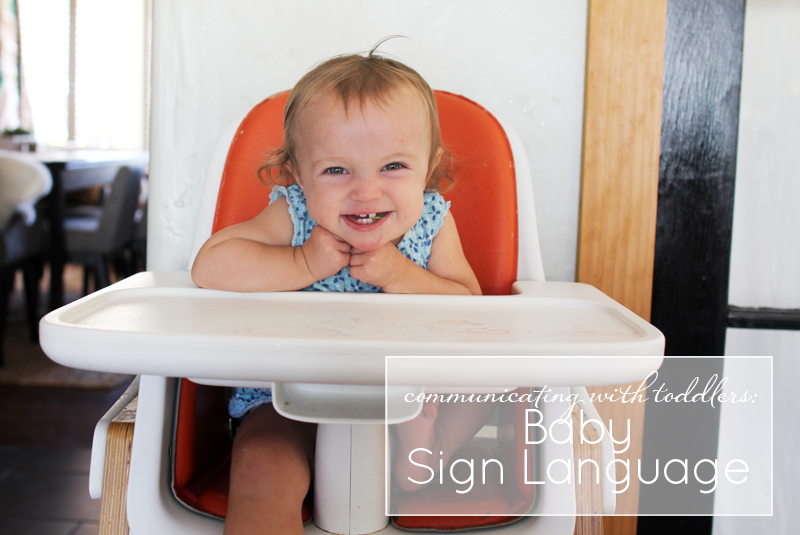 Communicating with Baby: Baby Sign Language | PepperDesignBlog.com