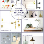 Favorite Modern & Mid-Century Modern Lighting Resources | PepperDesignBlog.com