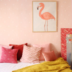 Girls' Room - A Modern Pink Nursery | A New Daybed | PepperDesignBlog.com
