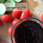 Honey & Rosemary Balsamic Reduction Dressing