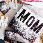 Mother's Day Stenciled 'MOM' | PepperDesignBlog.com