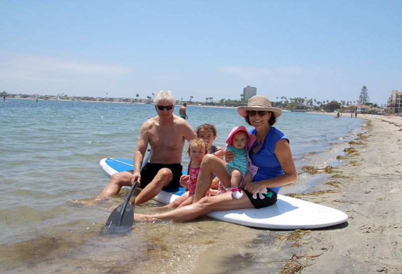 Father's Day, 2015 | Mission Bay, San Diego | PepperDesignBlog.com