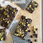 Pistachio, Caramel & Sea Salt Chocolate Bars