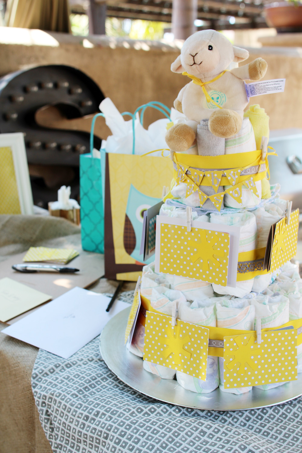 You Are My Sunshine Baby Shower | PepperDesignBlog.com