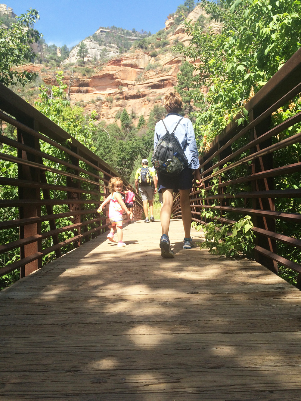 Family Time in Sedona, 2015