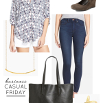 Wardrobe Style Board: Business Casual Fridays