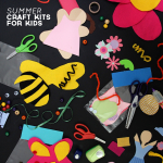 Dog Days of Summer: Craft Kits for Kids