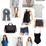 A (Nursing-Friendly) Summer Capsule Wardrobe
