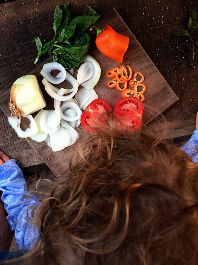 Cooking with a CSA Box