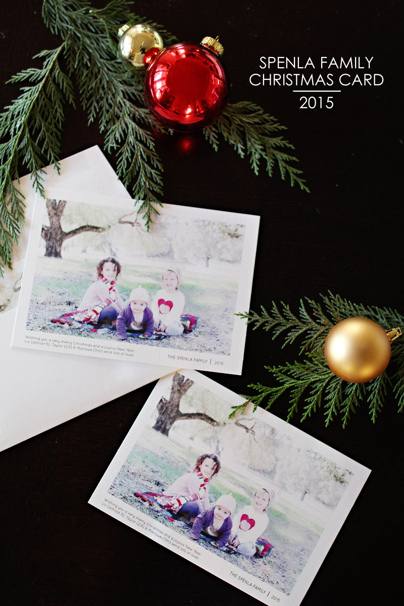 Our Christmas Cards 2015