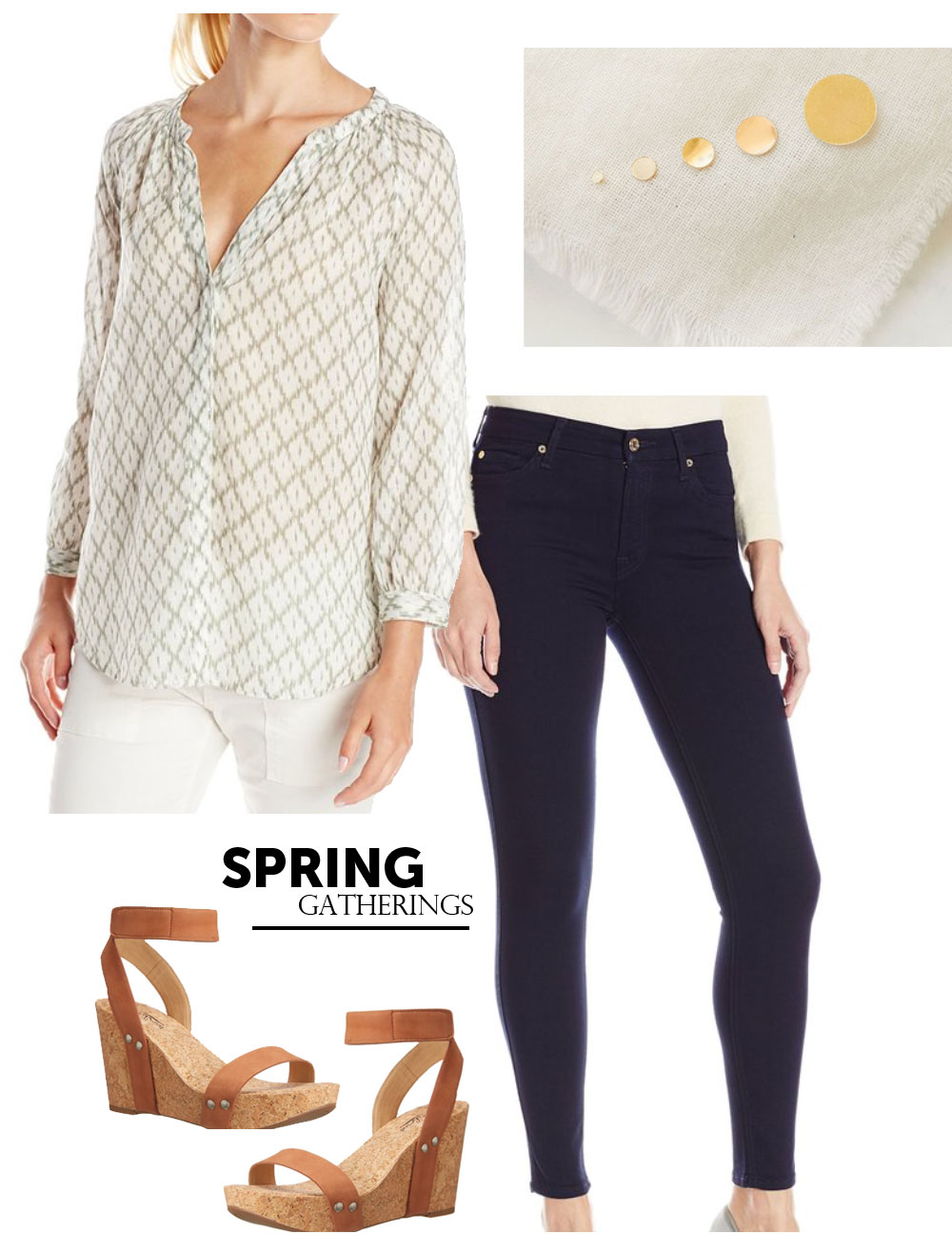 Wardrobe Style Board | Spring Gatherings