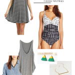 Wardrobe Style Board | Summer Neutrals